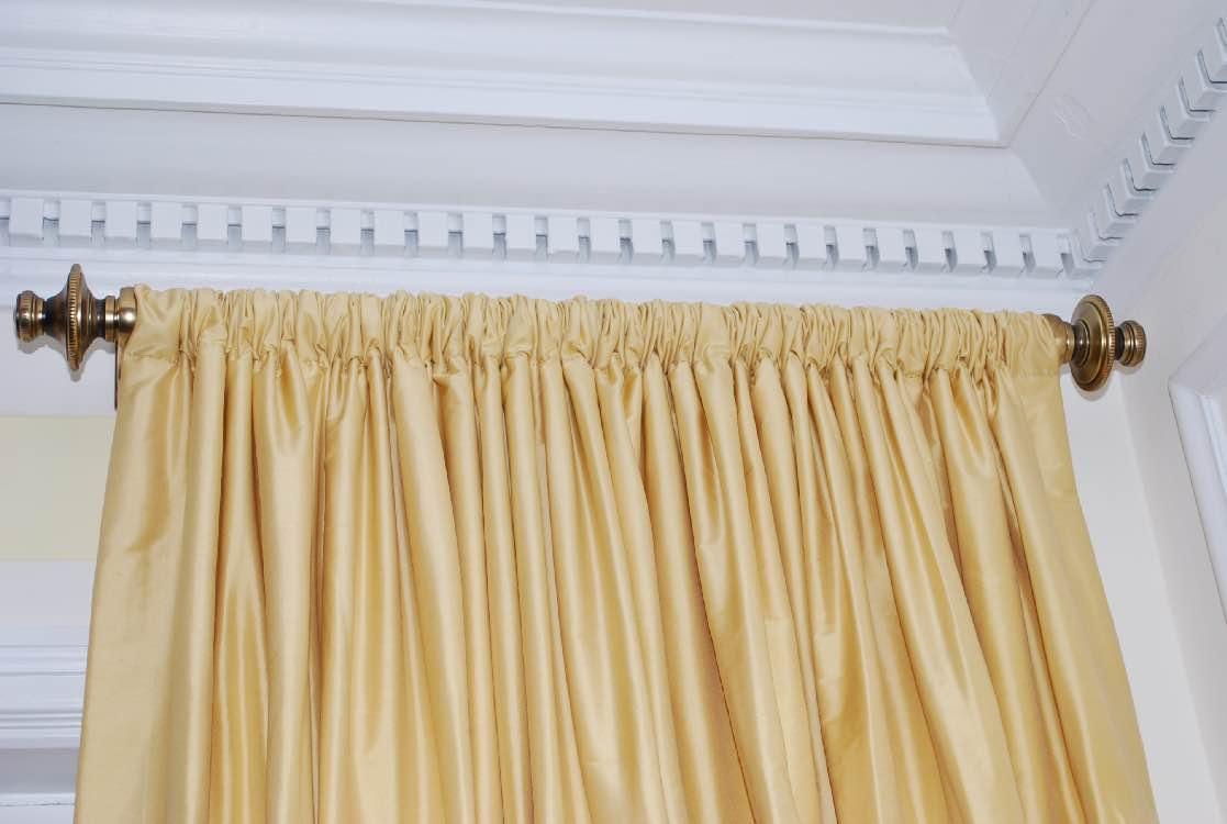 Rod Pocket Curtains With Header Curtain Menzilperde Net
