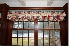TB-011 Pleated Balloon Valance