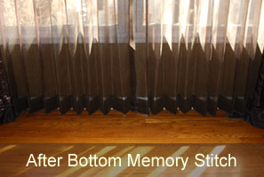 What is a Bottom Memory Stitch