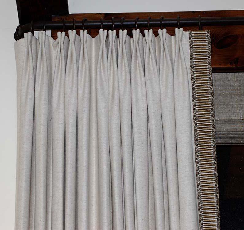 D 068 Bow Tie Pleat 4 Precision Draperies Llc