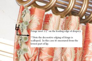 How to specify Inserted Fringe