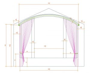 Autocad Detailing Amp Pattern Making Precision Draperies Llc