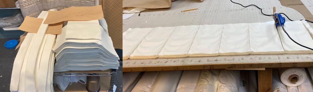 Speed cutting & layering of fabric
